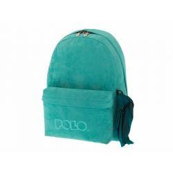 2ab4546bb2 Σακίδιο με μαντήλι velvet πράσινο POLO 9-01-135-65