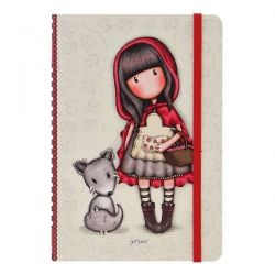 53cbf29e1b Σημειωματάριο με σκληρό εξώφυλλο και λάστιχο Santoro Gorjuss Notebook  Little Red Riding Hood 230EC55